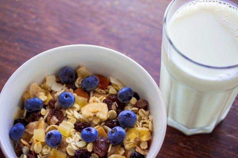 muesli, cereal, oatmeal