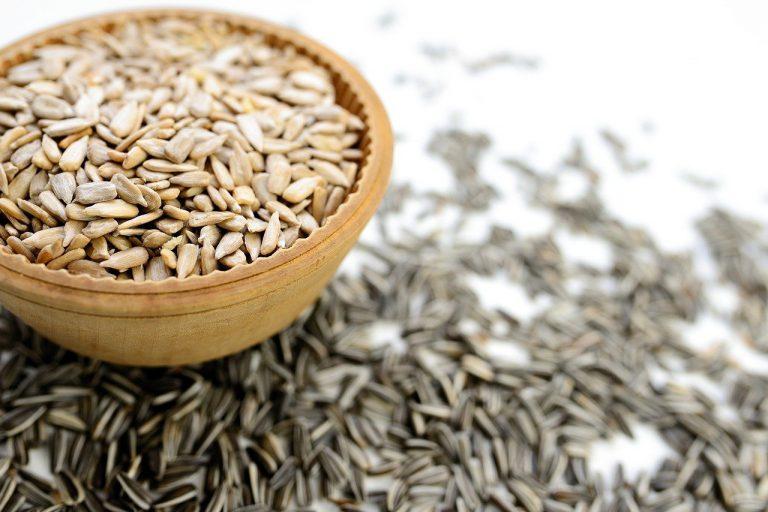 sunflower seeds, seeds, food